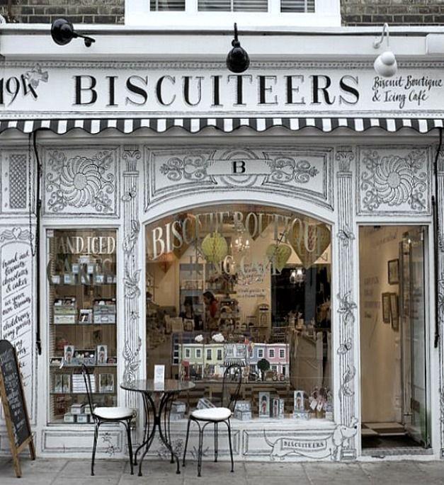 Ideias para fachadas de lojas venda otimizada - Boutique en angleterre ...
