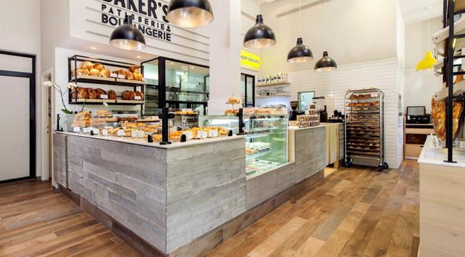 de decoração de interiores decoração de pastelaria com quadros