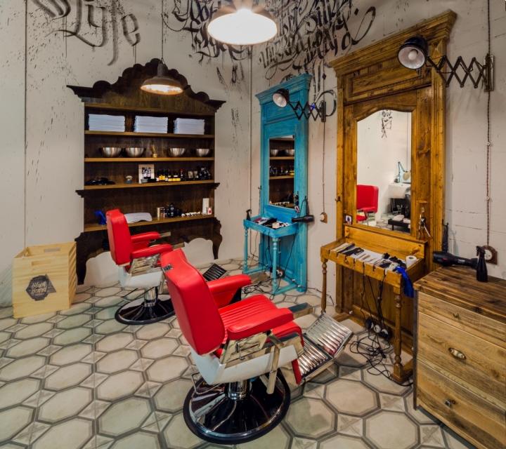 Exemplo para decorar um cabeleireiro Black-Beard-Barbershop
