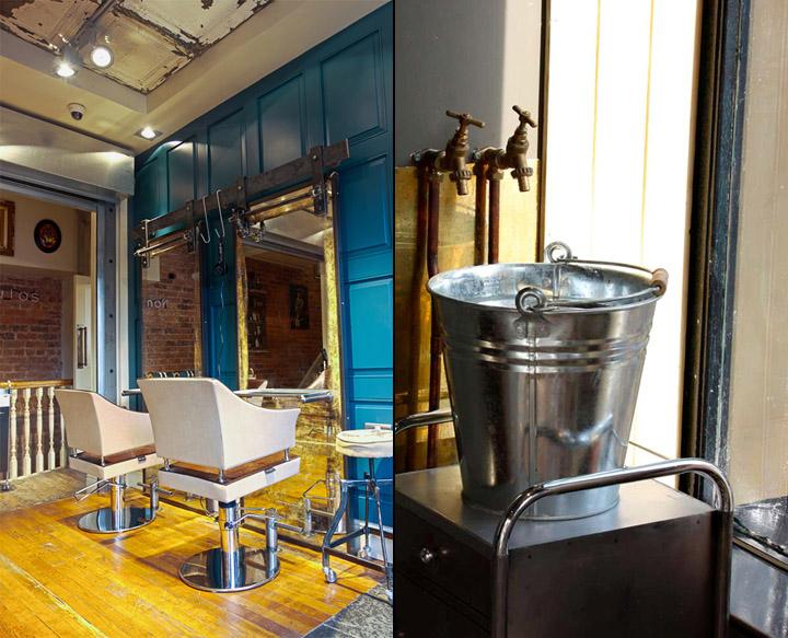 Exemplo para decorar um cabeleireiro Boiler-House