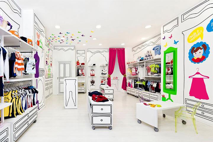 Decoração de loja de roupa infantil (6)