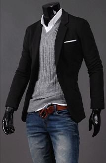 Jeans And Blazer Mens