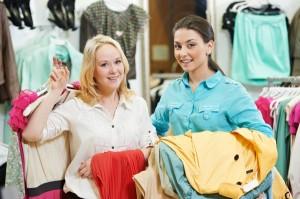 A combinação de cores deve ser uma das áreas em que os vendedores devem estar preparados para ajudar