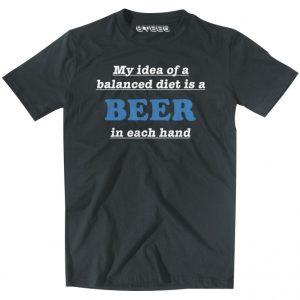 imagem com t-shirt com frase divertido para criar uma marca de t-shirts