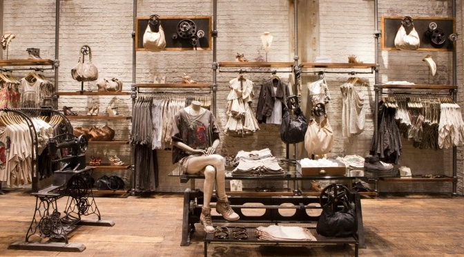 Ideias para decorar uma loja de roupa