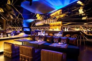 O estilo luxuoso é bastante adequado a restaurantes de preços elevados.