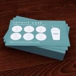 Como criar um cartão de fidelização de clientes.