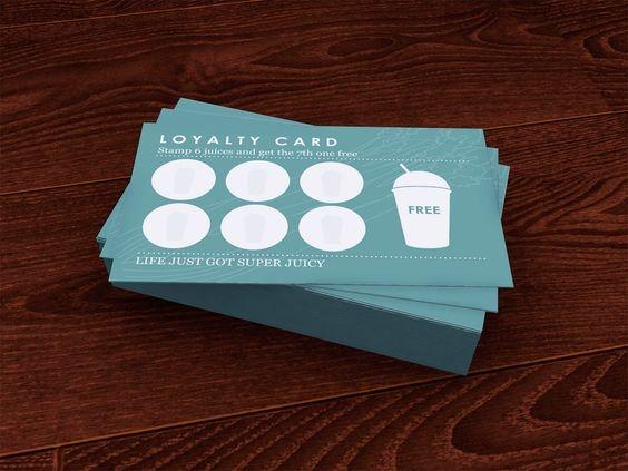 Como criar um cartão de fidelização de clientes