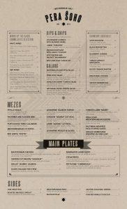 Como criar um menu de restaurante, ou cardápio.