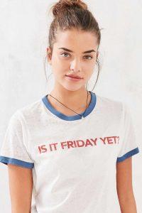 Como escolher as t-shirts - t-shirt mulher ringer