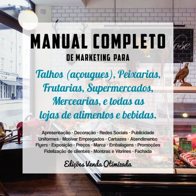 Foto manual completo para talhos, supermercado. Como aumentar as vendas de um supermercado