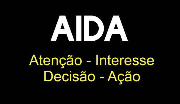 capa artido fazer publicidade a uma loja AIDA