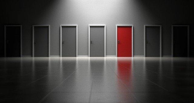 muitas alternativas para recuperar uma empresa - portas